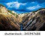 Yellowstone Canyon Looking...