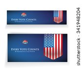 presidential election 2016...   Shutterstock .eps vector #341948204