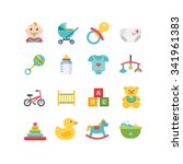 Baby And Child Related Icons ...