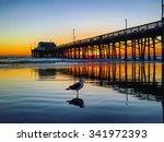 Fall Sunset From Newport Pier...
