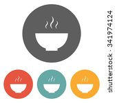 bowl icon | Shutterstock .eps vector #341974124
