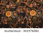 the beautiful of art malaysian... | Shutterstock . vector #341976083