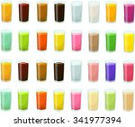 vector illustration of various... | Shutterstock .eps vector #341977394