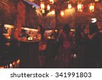 Stock photo night club blurred 341991803