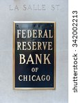 federal reserve bank of chicago ... | Shutterstock . vector #342002213