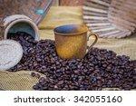 cup of coffee | Shutterstock . vector #342055160