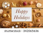 christmas background  mockup ... | Shutterstock . vector #342065636