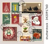 Christmas Postage Stamps ...