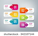 six steps infographics   can... | Shutterstock .eps vector #342107144