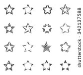 star pictogram | Shutterstock .eps vector #342137588