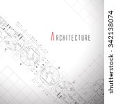 architecture background. | Shutterstock .eps vector #342138074