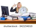 woman businesswoman working...   Shutterstock . vector #342154010
