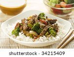Asian Dish With Beef ...