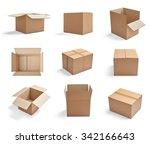 collection of  various... | Shutterstock . vector #342166643
