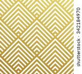 geometric gold glittering...   Shutterstock .eps vector #342184970