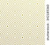 geometric gold glittering... | Shutterstock .eps vector #342185360