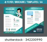 flyer multipurpose design... | Shutterstock .eps vector #342200990