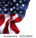 part of american national flag... | Shutterstock . vector #342210830