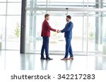 business greeting of partners | Shutterstock . vector #342217283