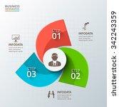 vector infographic design...   Shutterstock .eps vector #342243359