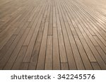wooden deck background lumber... | Shutterstock . vector #342245576