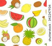 vector illustration outline... | Shutterstock .eps vector #342247934