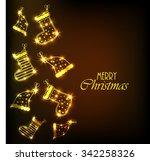 merry christmas | Shutterstock .eps vector #342258326