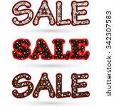 inscription sale concept for...   Shutterstock .eps vector #342307583