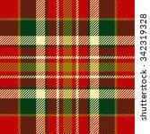 seamless tartan pattern | Shutterstock .eps vector #342319328