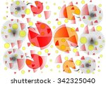 decorative  delicate  colorful  ... | Shutterstock . vector #342325040