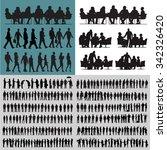 vector business people... | Shutterstock .eps vector #342326420