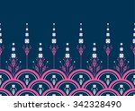 geometric ethnic pattern... | Shutterstock .eps vector #342328490
