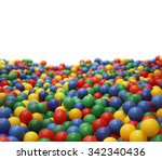 Multi Colored Plastic Balls. A...
