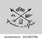 hand drawn vector illustration...   Shutterstock .eps vector #342383786