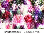 Vibrant Floral Pattern With...