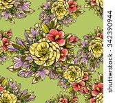 abstract elegance seamless... | Shutterstock .eps vector #342390944