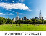 new york   august 22  views of...   Shutterstock . vector #342401258