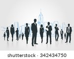 business people group... | Shutterstock .eps vector #342434750