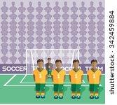 australia football club soccer... | Shutterstock .eps vector #342459884