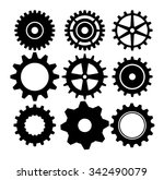 gears  cogs or wheels graphic... | Shutterstock .eps vector #342490079