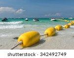 Yellow Buoy At The Pattaya...
