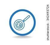 frying pan icon | Shutterstock .eps vector #342493724