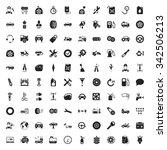 repair icons set.  | Shutterstock . vector #342506213