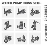 vector icon of electric water... | Shutterstock .eps vector #342508838