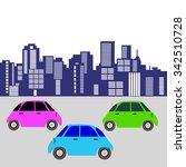 car toy vector automobile auto... | Shutterstock .eps vector #342510728
