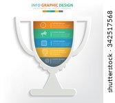 trophy info graphic design....