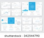 brochures for business reports  ... | Shutterstock .eps vector #342544790