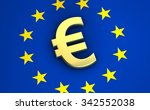european union financial... | Shutterstock . vector #342552038