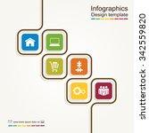 infographic report template...   Shutterstock .eps vector #342559820