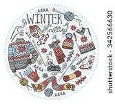 Doodles.winter Knitting ...